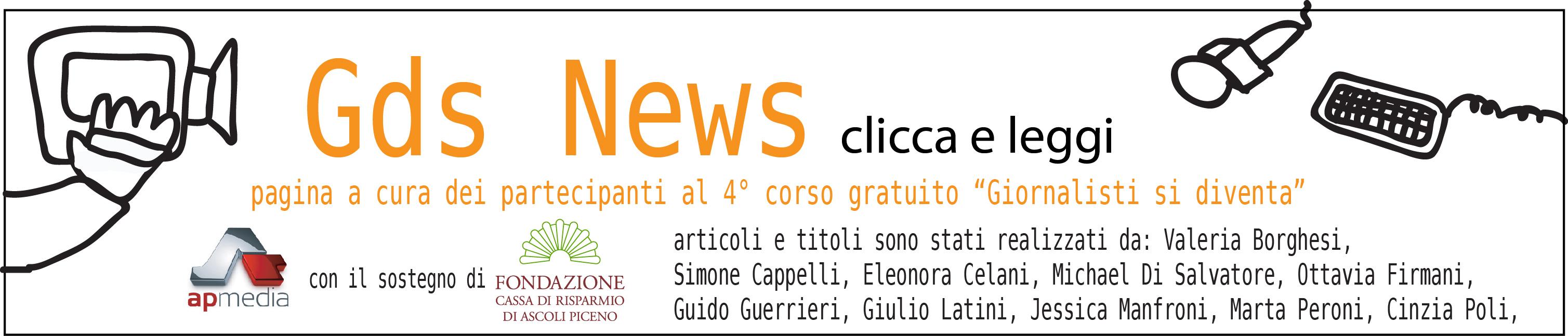 Banner Gds News per lettura articoli su pagina Gazzetta di Ascoli 2018