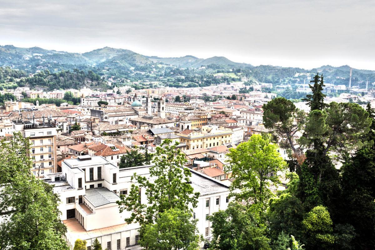 panorama Ascoli dall'Annunziata