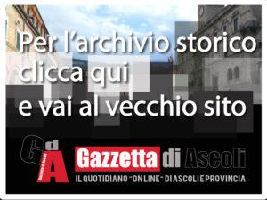 Fotocopertina per news Gazzettadiascoli