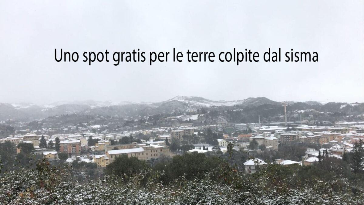 Ascoli con la neve e spot gratis