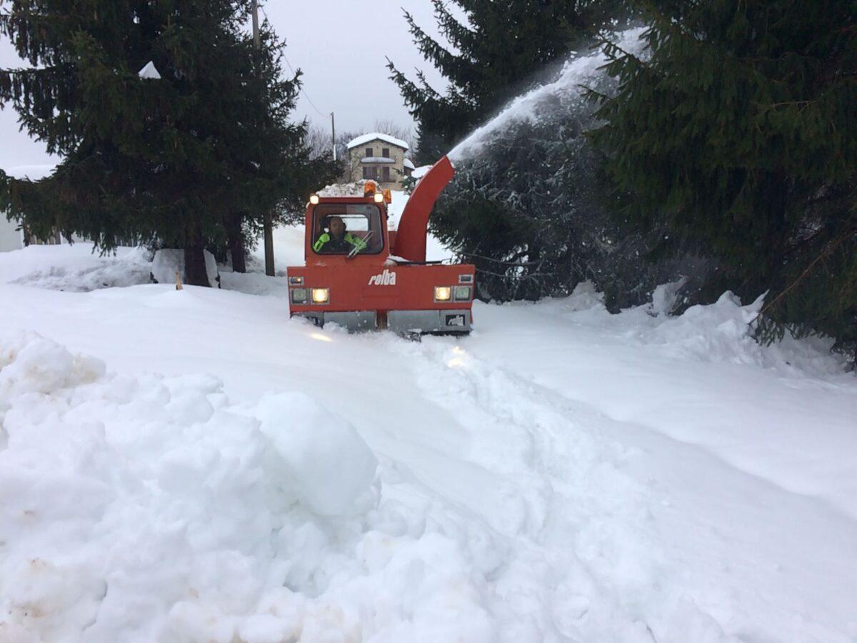 Vigili del fuoco e neve 2