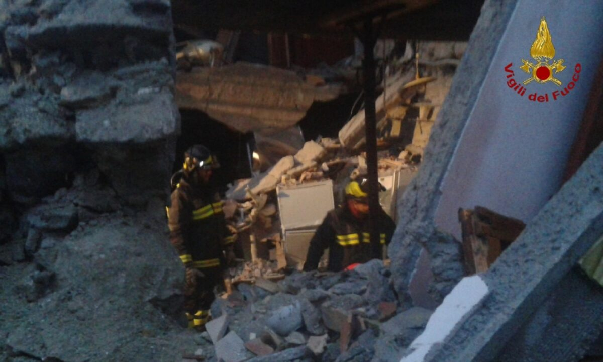 Vigili del fuoco - Recupero beni terremoto