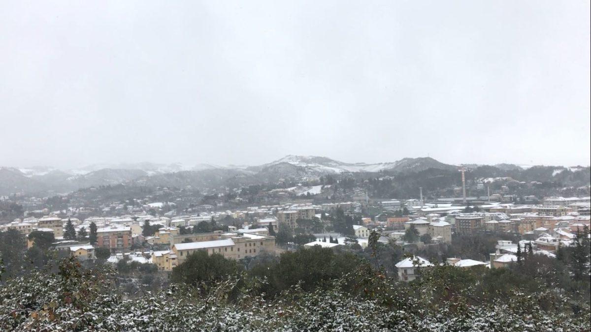 Ascoli con la neve