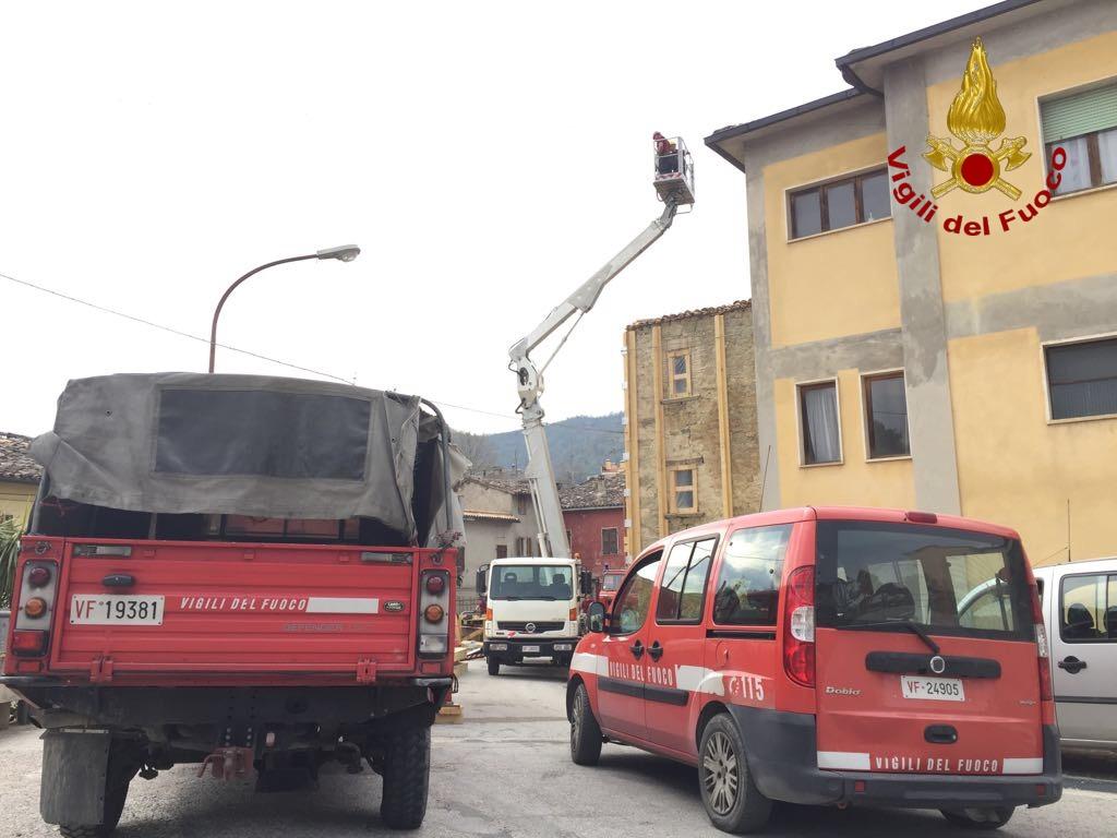 Vigili del Fuoco - Intervento terremoto