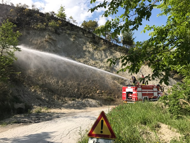 Incendio Vallesenzana 03-05-2017