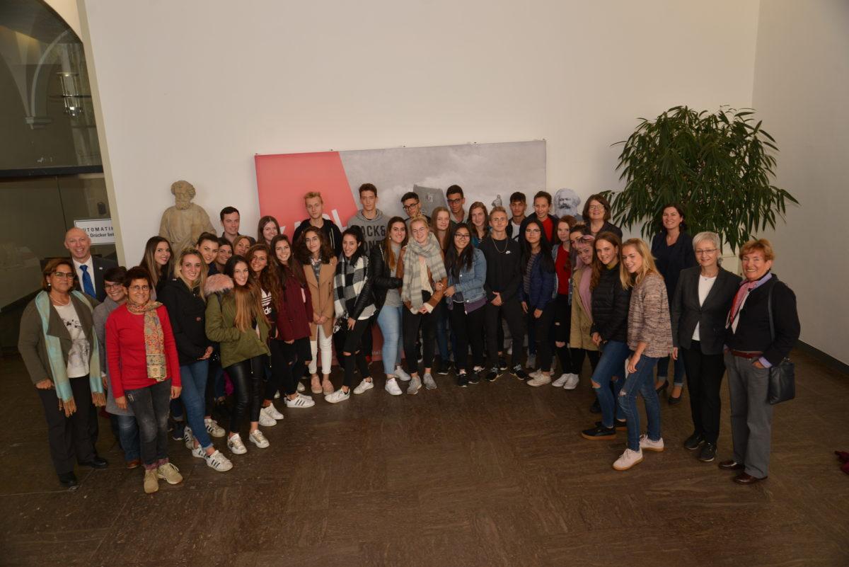 Schüler aus Ascoli