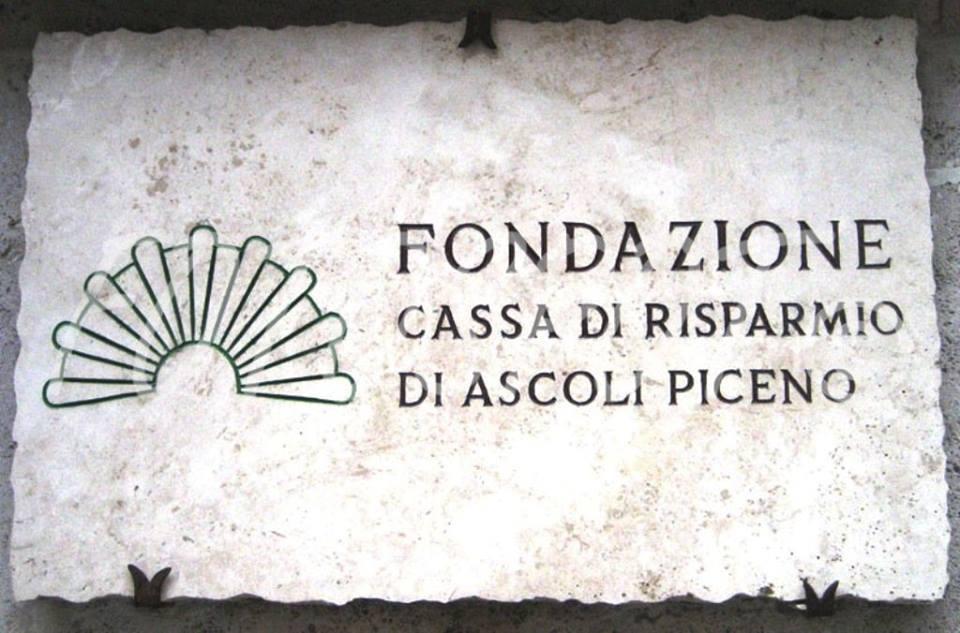 Fondazione Carisap targa