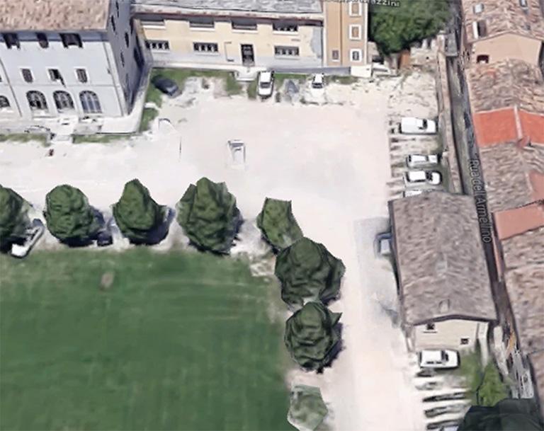 giardino palazzo colucci