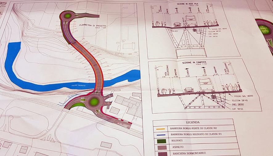 Progetto maxi ponte