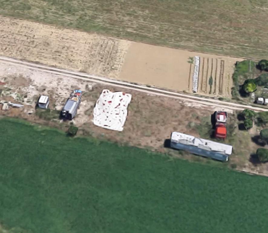 zona Castagneti vicino caserma militare