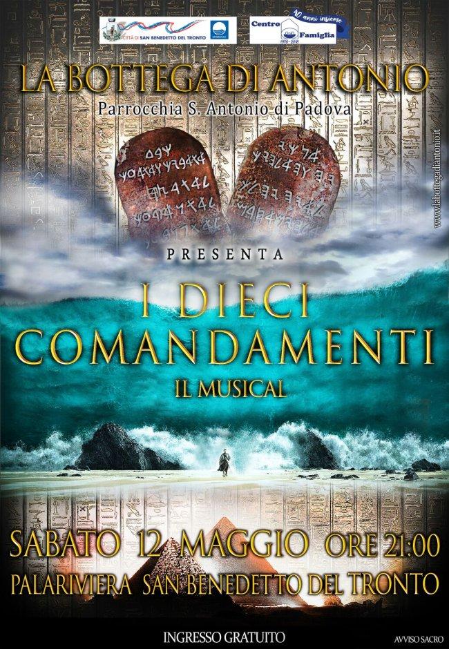 i dieci comandamenti - locandina