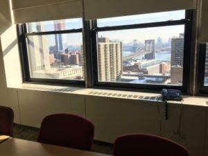 Le aule della Pace University a New York