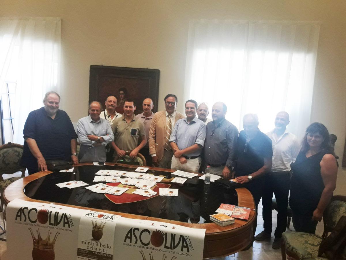 Conferenza stampa Ascoliva 2018