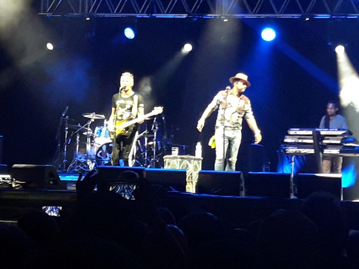 Sting e Shaggy ad Ascoli