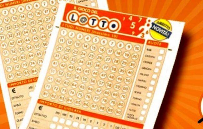 Schedina Lotto