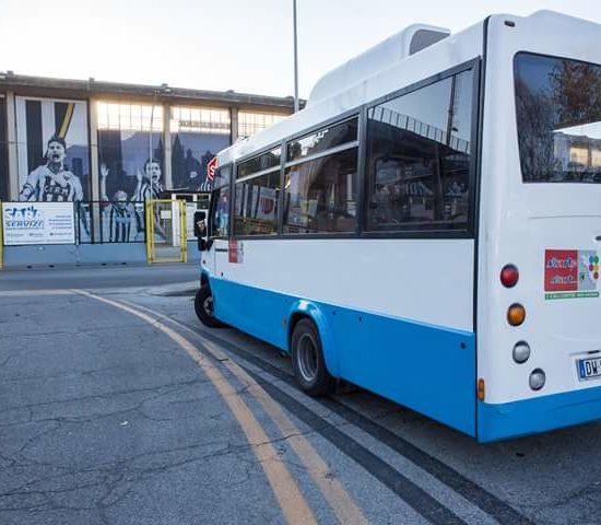 Secondo bus navetta per il centro