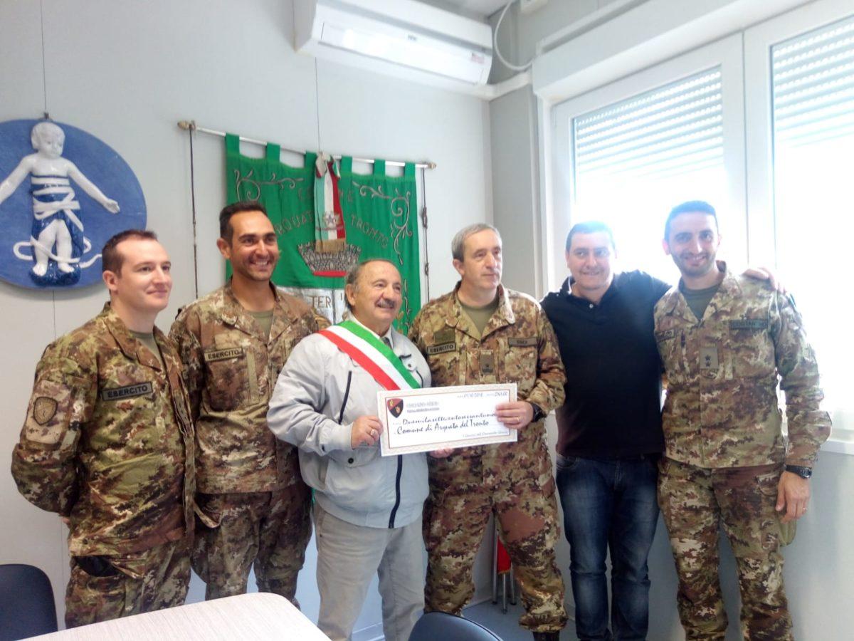 Terremoto Arquata donazione Genio Petrucci