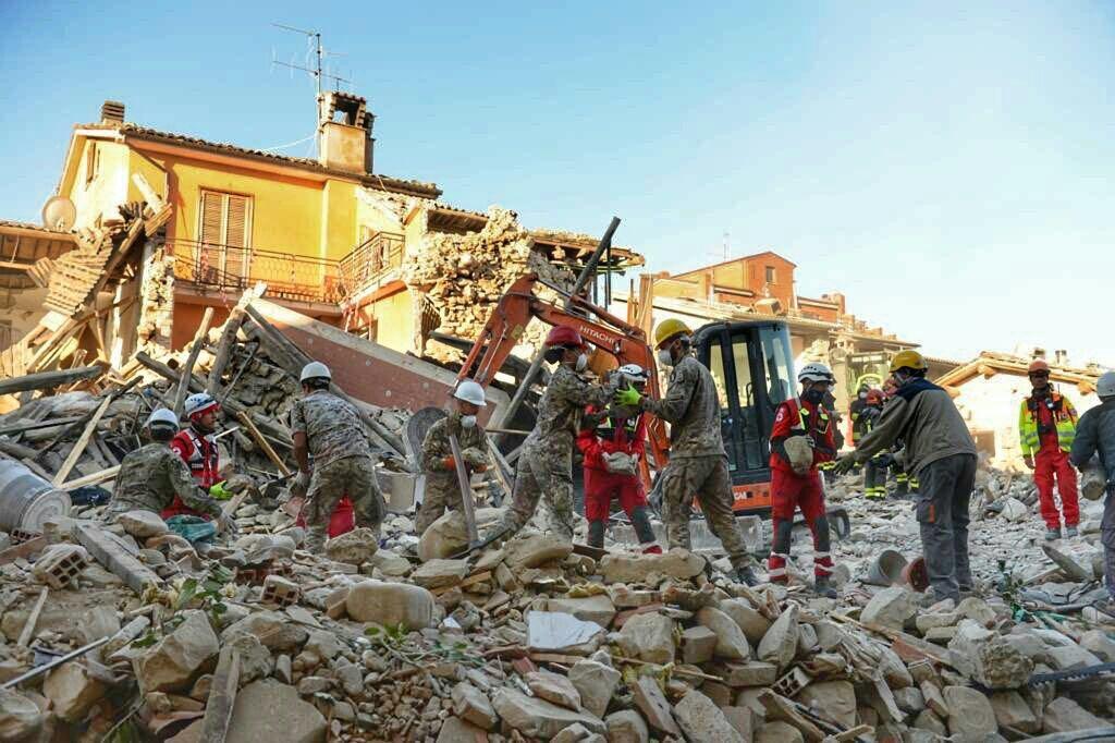 militari Piceno per il post terremoto