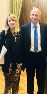 Onorevole Giorgia Latini e Ministro dell'Istruzione Marco Bussetti