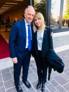Inaugurazione Anno Accademico - Ministro Marco Bussetti e Onorevole Giorgia Latini