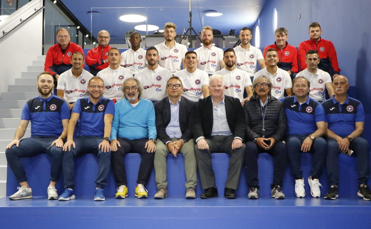 Presentazione squadra, staff tecnico e main sponsor