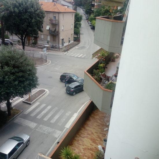 Incrocio via Napoli-via Urbino