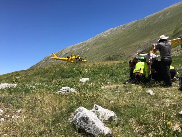 Soccorso Alpino Lago di Pilato