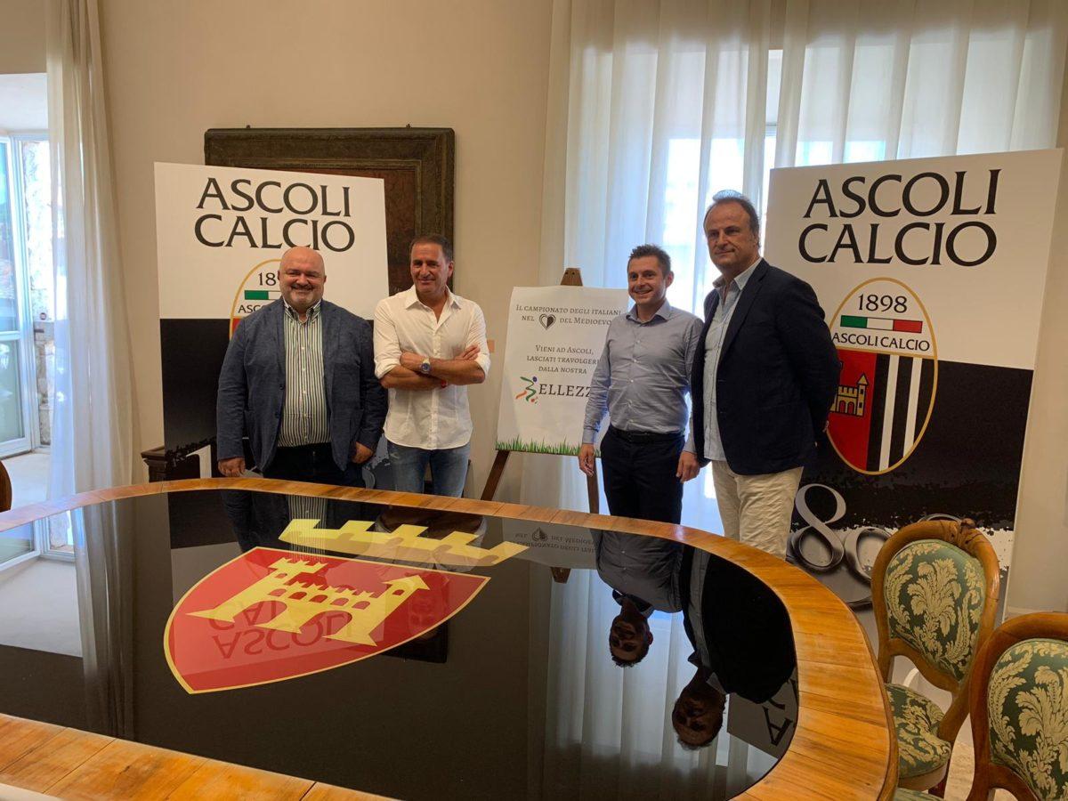 Conferenza Arengo Ascoli calcio del 30 luglio 2019