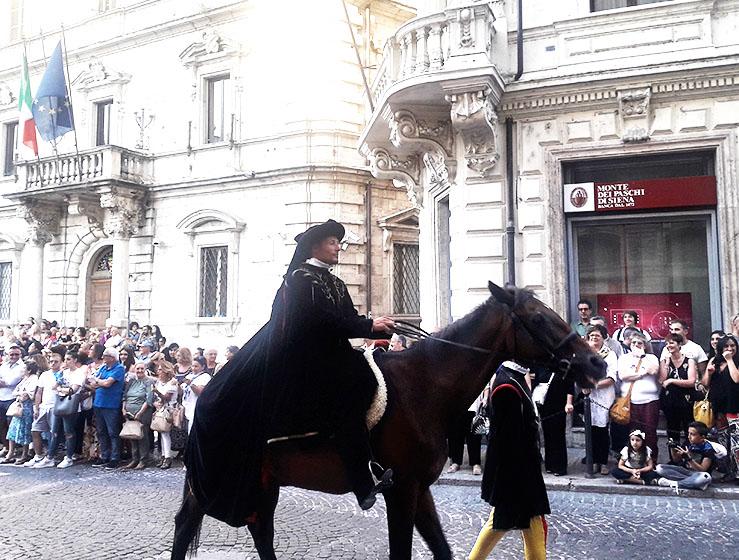 Ossini a cavallo
