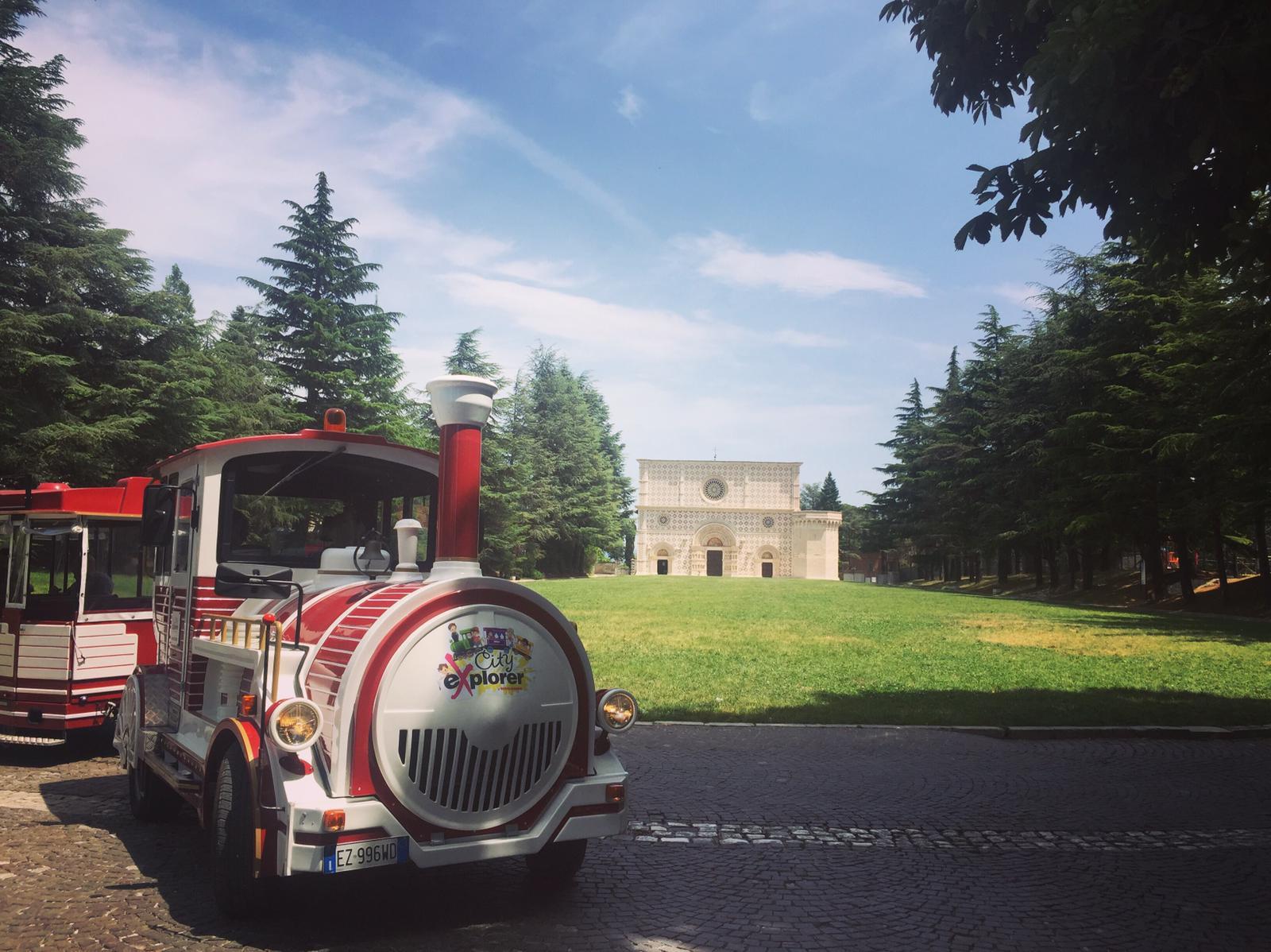 Trenino Giocamondo a L'Aquila